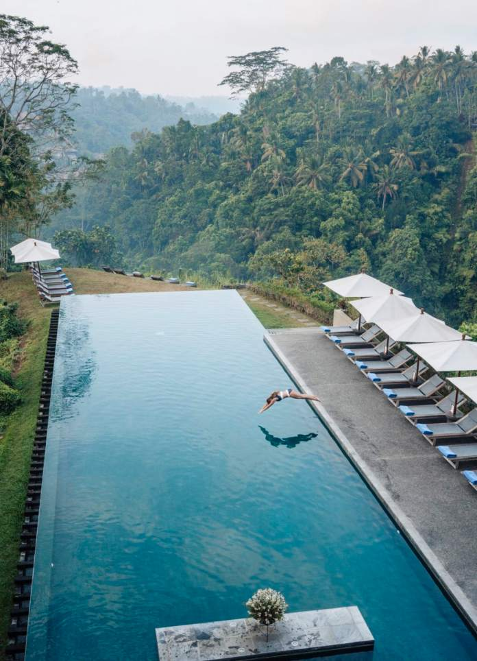 The Alila Ubud A Beautiful Jungle Hotel In Bali With Epic Pool Views Live Like It S The Weekend