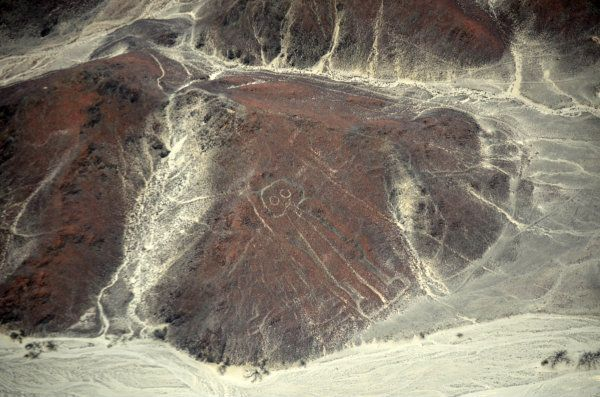 Nazca Lines Spaceman