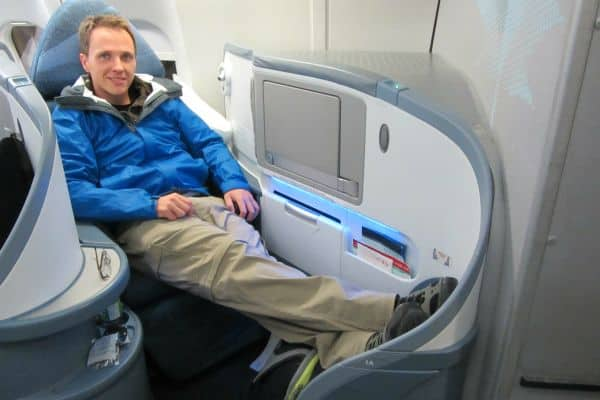 Air Canada Business Class Pod Seating
