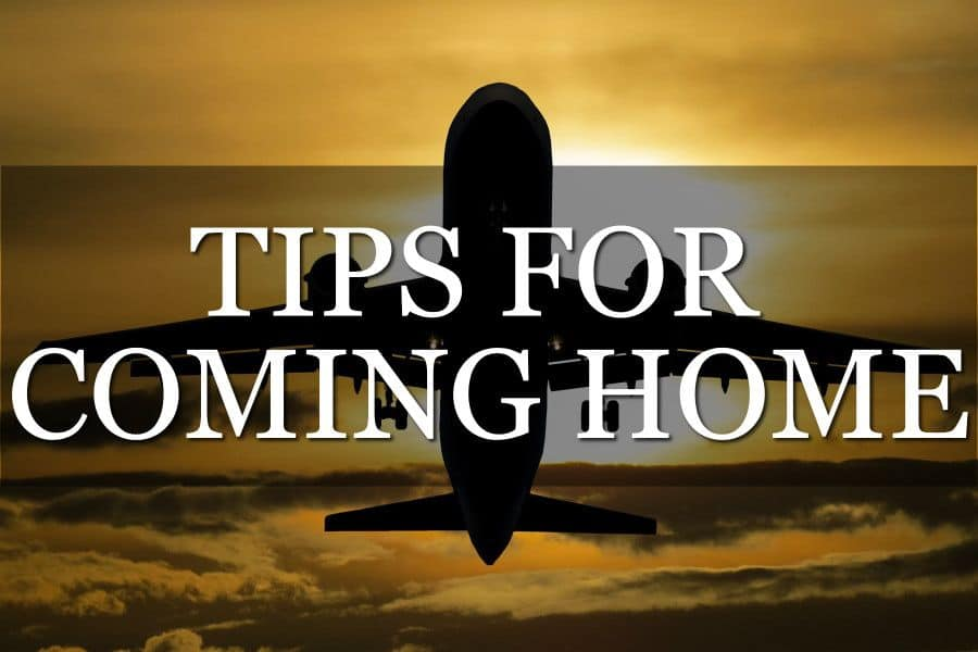 Come Home After Travel