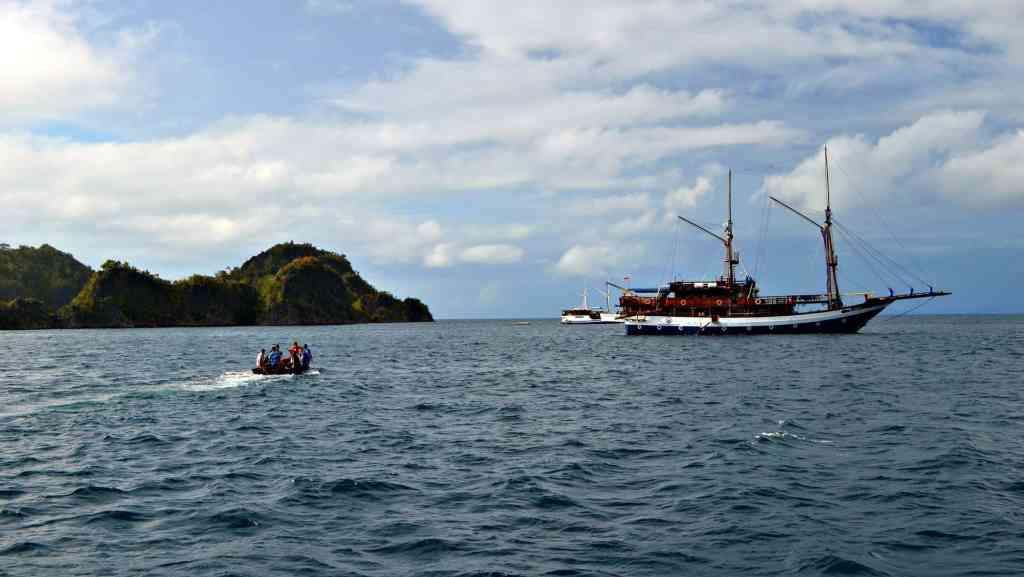 Scuba diving Raja Ampat