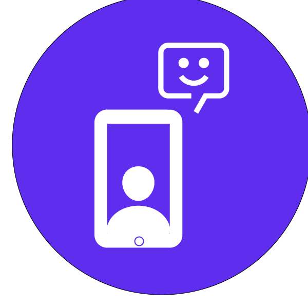Chat en visio directe depuis vos réseaux sociaux