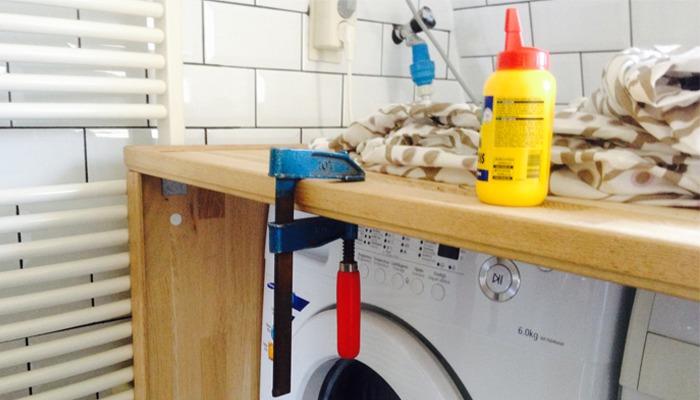 Wasmachine Kast Badkamer : Ombouwinbouw wasmachine en droger op zolder werkspot