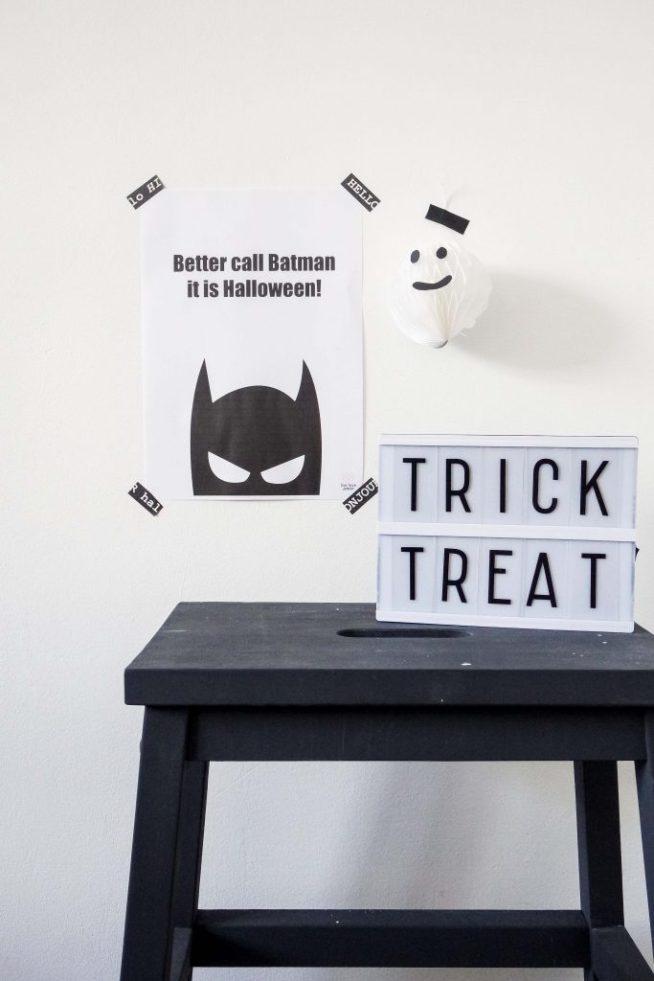 Printable Halloween - Live love interior