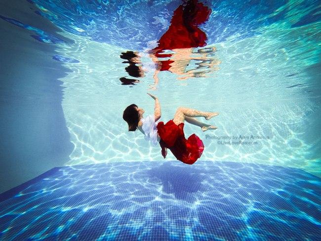 Anya Andreeva underwater photography-Marbella