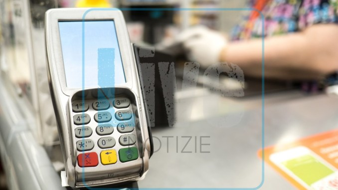pos bancomat cartge credito shopping pagamenti supermercato acquisto