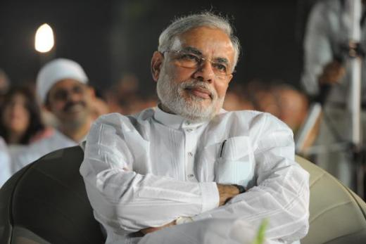 A file photo of Gujarat chief minister Narendra Modi. Photo: Mint<br /><br />