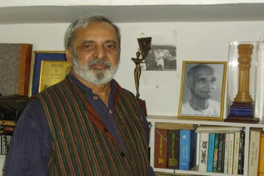 A file photo of U.R. Ananthamurthy. Photo: Wikimedia Commons