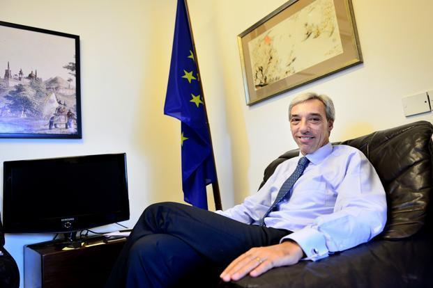 Need political spark for India-EU FTA: EU ambassador