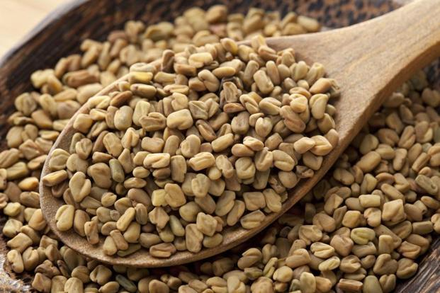 Pressing seeds—mustard, fenugreek, peppercorns—over the 'third eye' point helps stimulate the master gland, according to the ancients. Photo: iStock