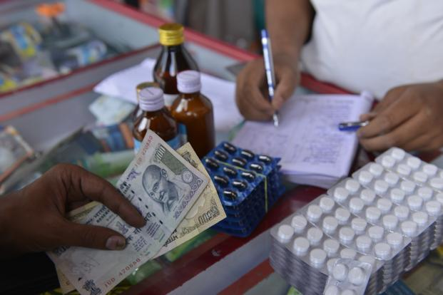 GST rate for medicines has been fixed at 12%, while essential drugs, including insulin, will be taxed at 5%. Photo: Hemant Mishra/Mint