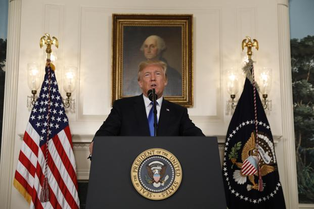 Image result for President Trump DECERTIFIES the Iran Nuclear Deal