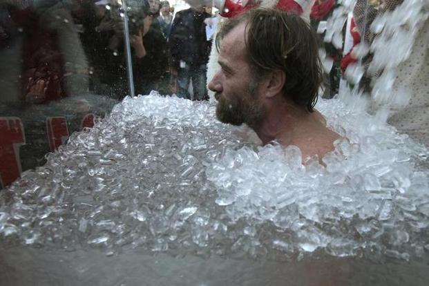 Wim Hof works with doctors and scientists across the world so that his body and methods can be subjected to study. Photo: Reuters
