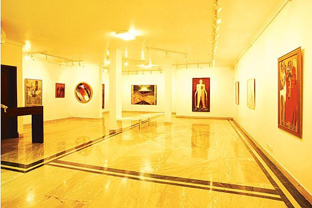 A significant proportion of the art market belongs to the Rs 0.1-0.5 million segment and a tax rate of 12% on this is substantial enough to discourage buyers. Photo: Art Alive