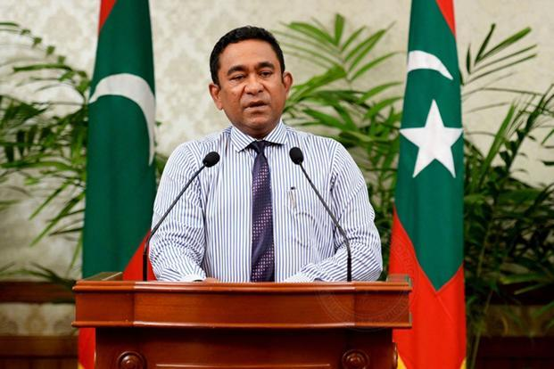 Maldives President Abdulla Yameen. The increasingly close relationship between China and the Maldives represents a shift from the past, when India was the country's primary regional partner. Photo: AFP