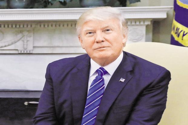 A file photo of US President Donald Trump. Photo: Reuters