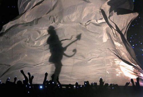 Prince's Half-time Show Photo from Getty
