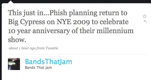 phish big cypress nye rumor