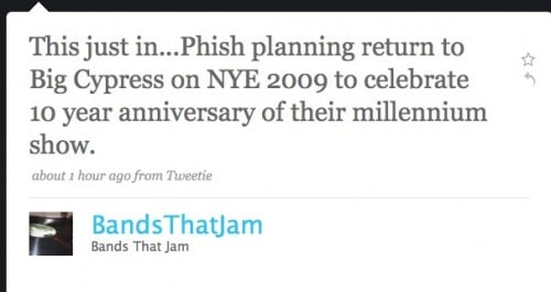 phish big cypress nye rumor
