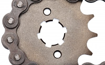 Image of Bicycle Sprocket and Chain