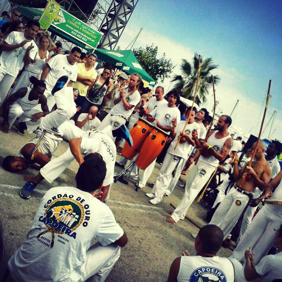 The music is an essential ingredient of the Roda
