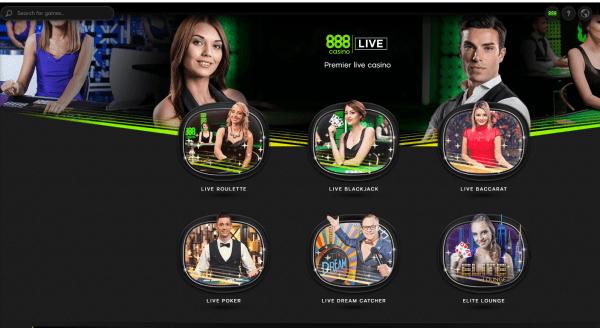 888 casino live CAD