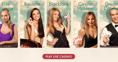 Play at live casino