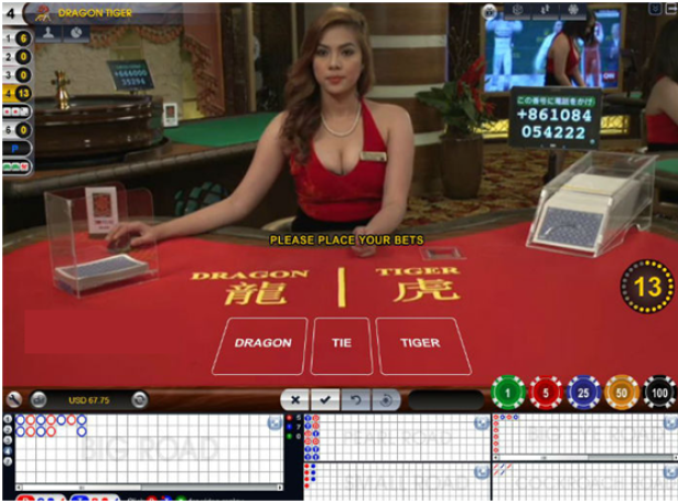 Best strategy to play Dragon Tiger Live Casino