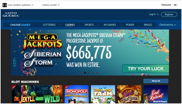 Espace Jeux casino
