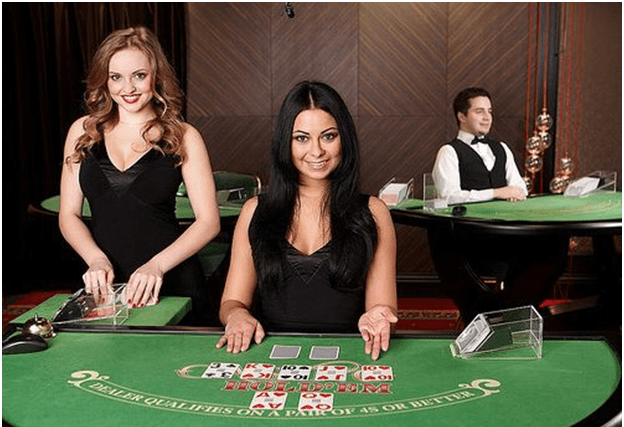 Card games at live casino