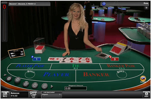 Tips to win Live Baccarat