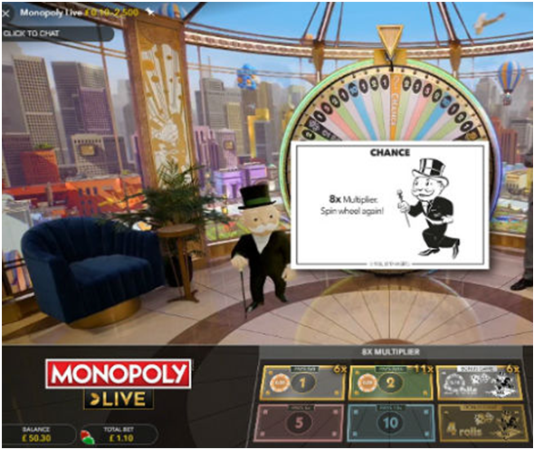 How to play Monopoly live game?