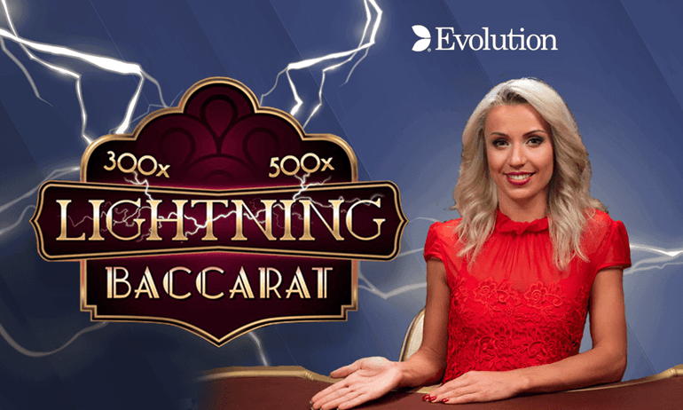 How to play live Lightning Baccarat with real CAD?