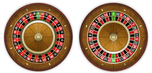 Live American Roulette- European and American wheel difference