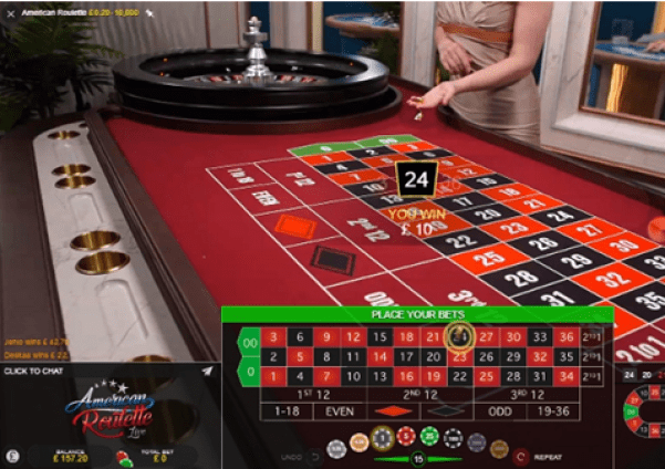Live American Roulette- Wins