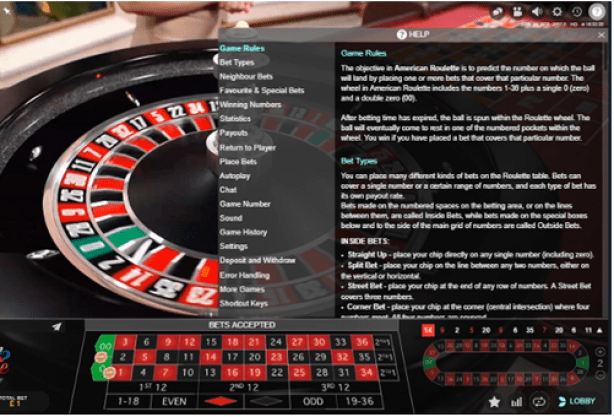Live American Roulette- How to play