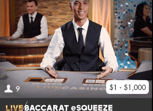 Live Baccarat eSqueeze