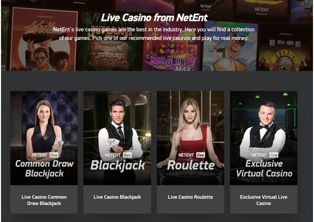 Live casino free games