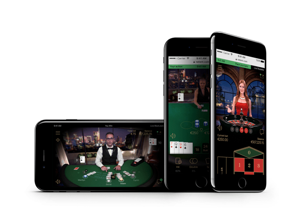 Live casino mobile play