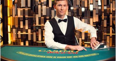 Live Casino Hold'em Progressive jackpot Canada