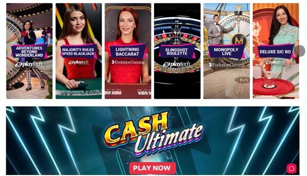 Partycasino - Live casino