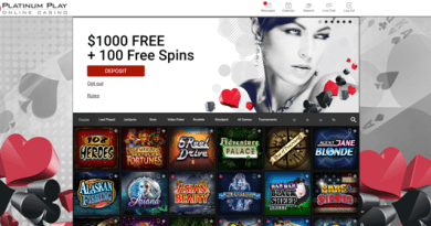 Baccarat Games To Play At Platinum Play Casino Canada