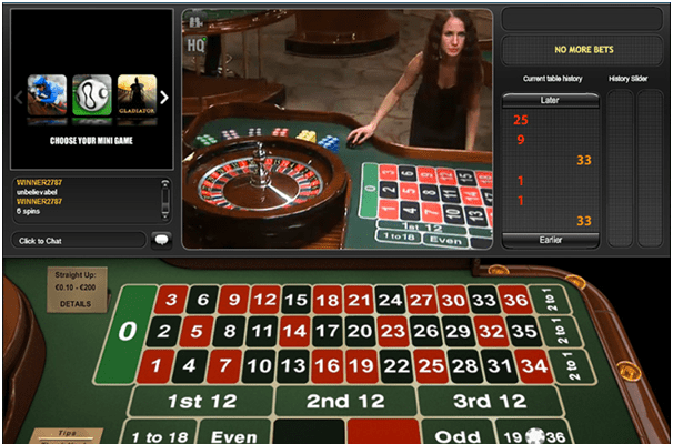 Playtech European Roulette