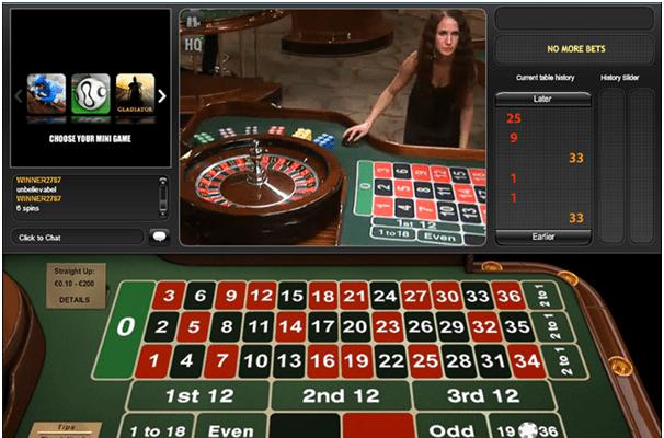 Playtech European Roulette