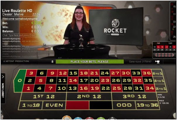 Where to play Rocket Roulette