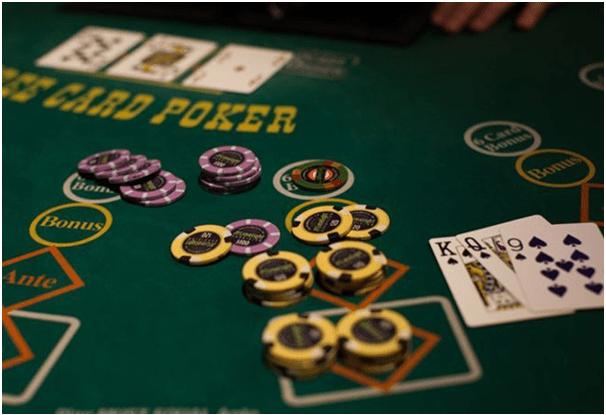 Three card poker- Tips to win