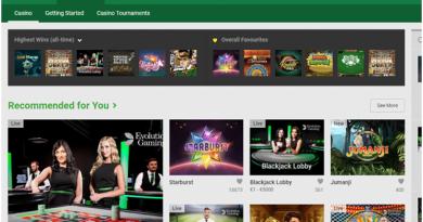 Unibet casino live
