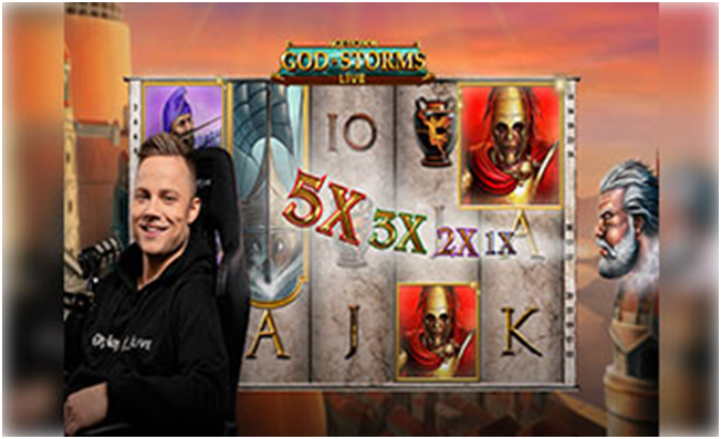 play Age of the Gods God of Storms Live Game- Multipliers