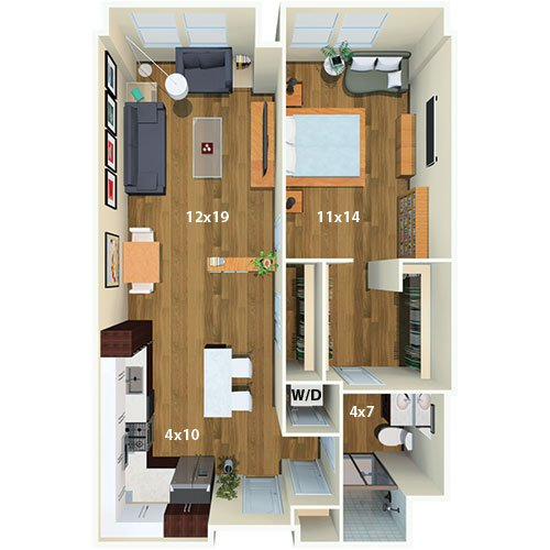 one canal apartment homes | boston, ma | floor plans