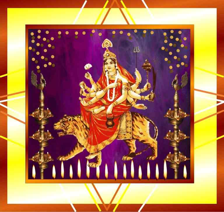 Picture of Maa Chandraghanta